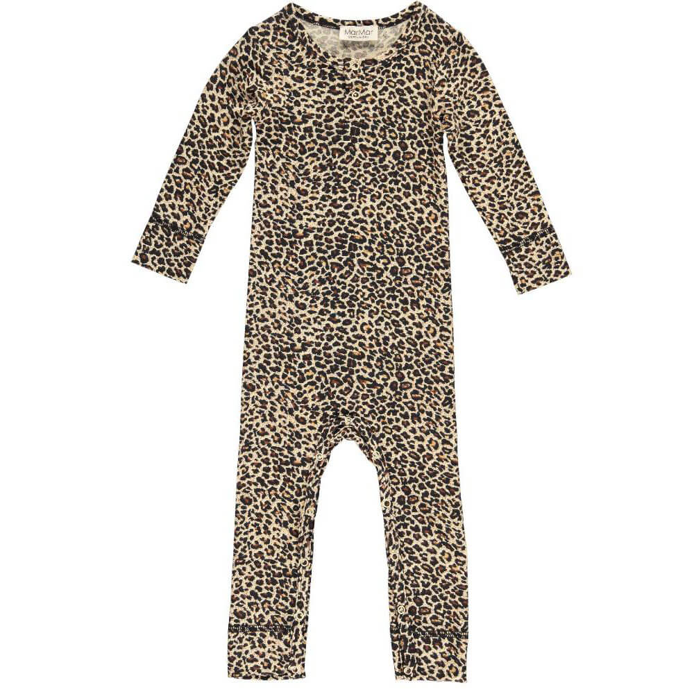 Leo Romper in Brown by MarMar Copenhagen - Junior Edition
