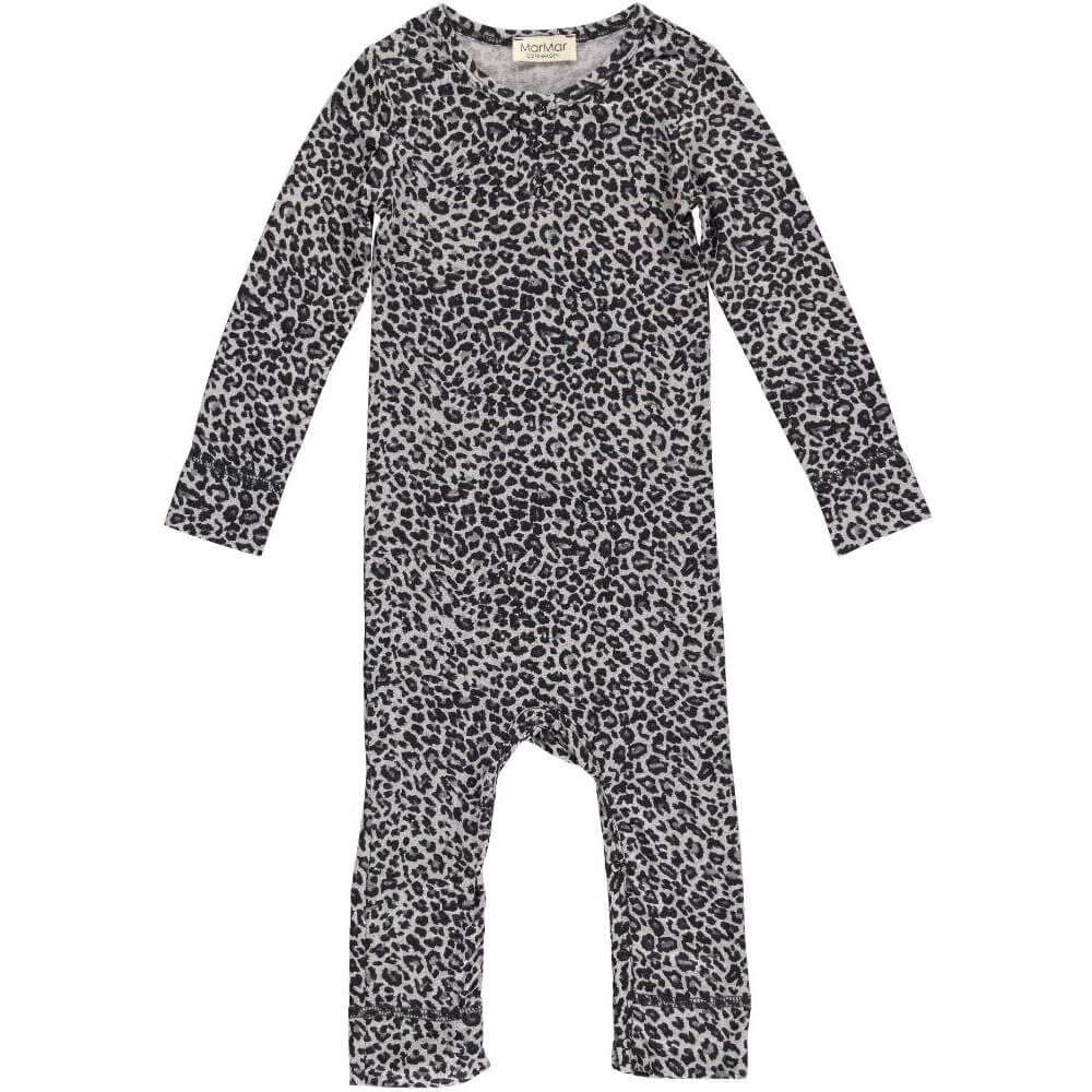 Leo Romper in Grey by MarMar Copenhagen - Junior Edition