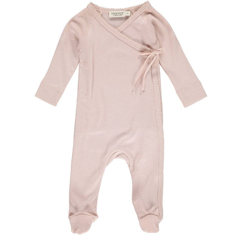 Wrap Romper in Rose by MarMar Copenhagen - Junior Edition