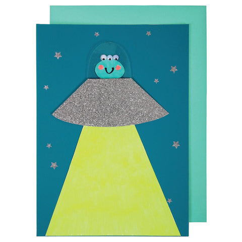Alien Greetings Card by Meri Meri
