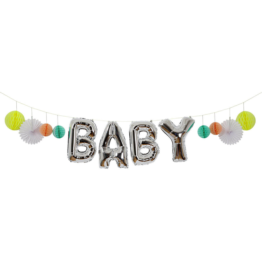 Baby Balloon Garland Kit by Meri Meri - Junior Edition