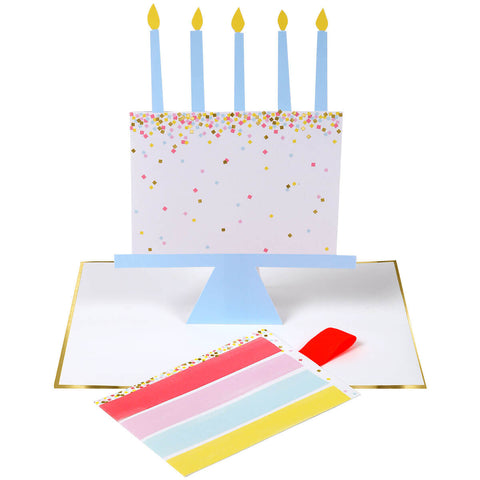 Slice Of Cake Greetings Card by Meri Meri - Junior Edition