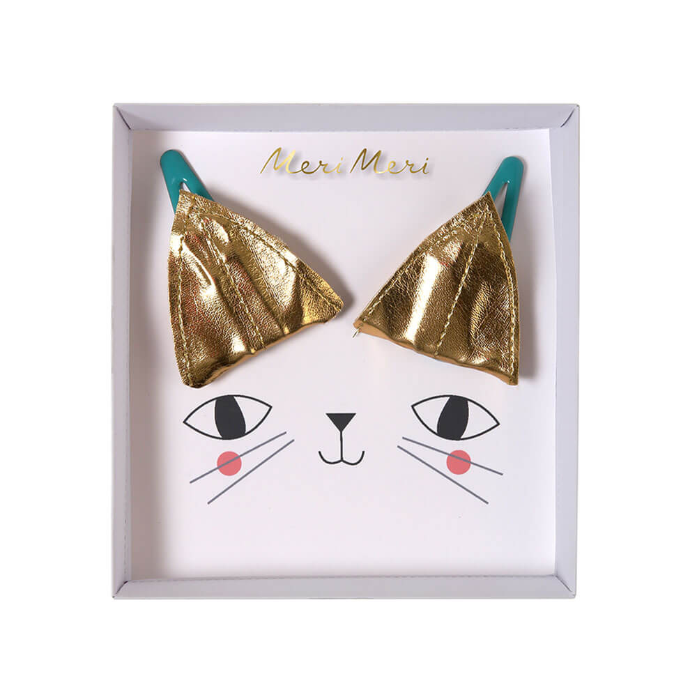 Cat Ear Hair Clips by Meri Meri - Junior Edition