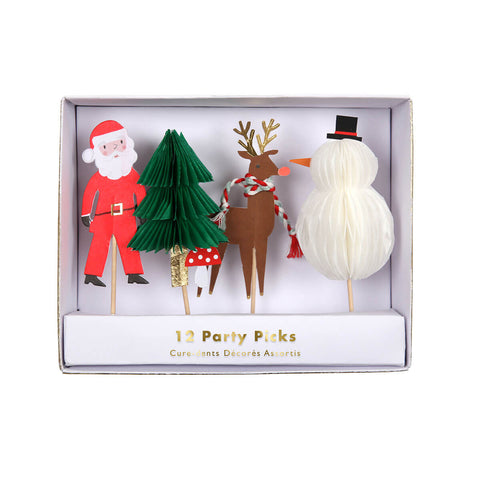 Christmas Party Picks by Meri Meri - Junior Edition