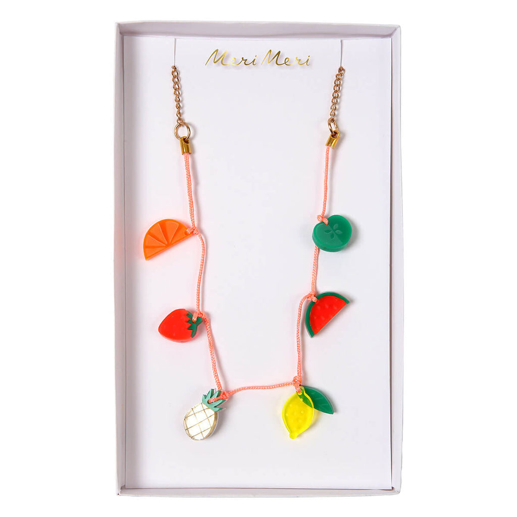 Fruit Charm Necklace by Meri Meri - Junior Edition