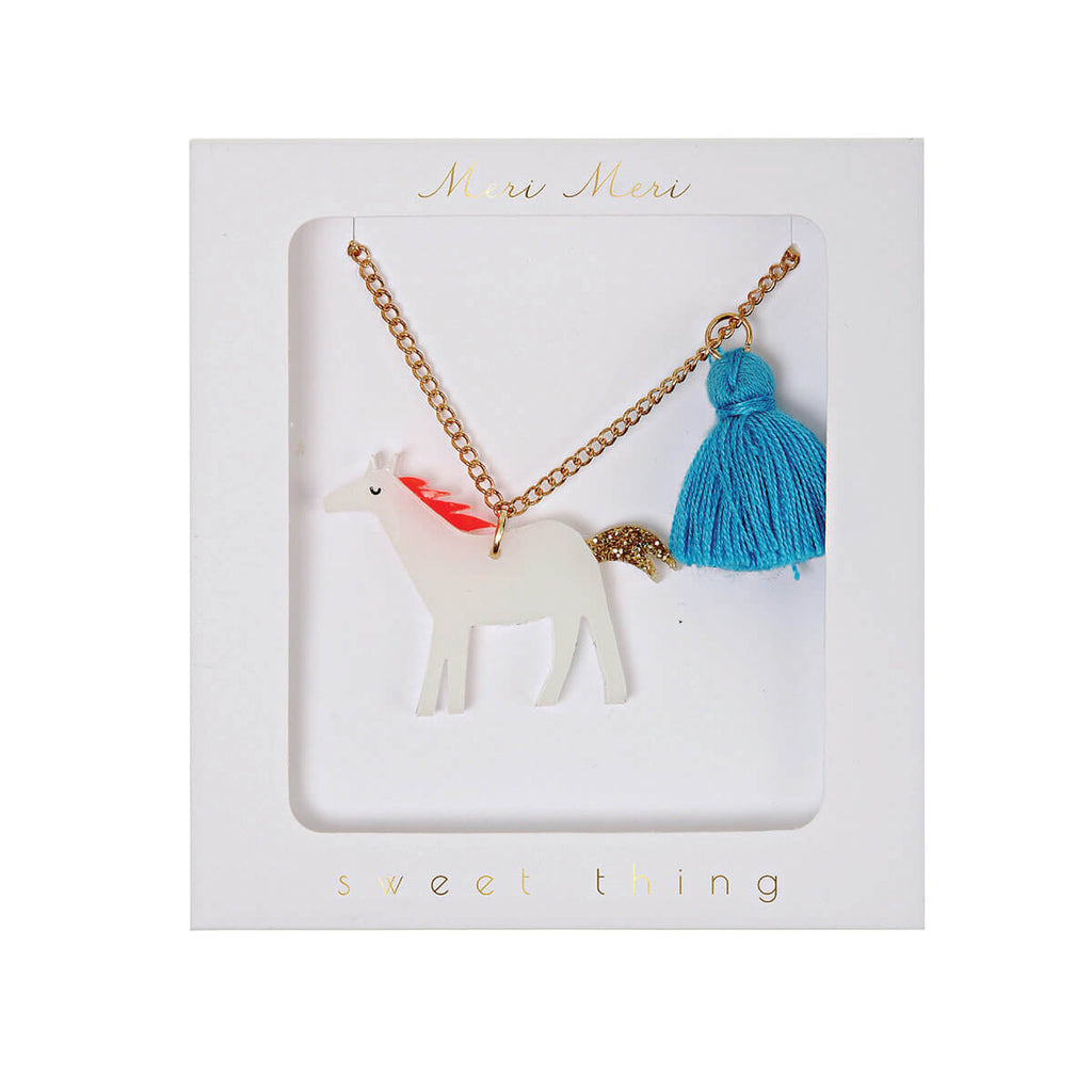 Horse Necklace by Meri Meri - Junior Edition