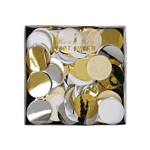 Confetti in Gold and Silver by Meri Meri