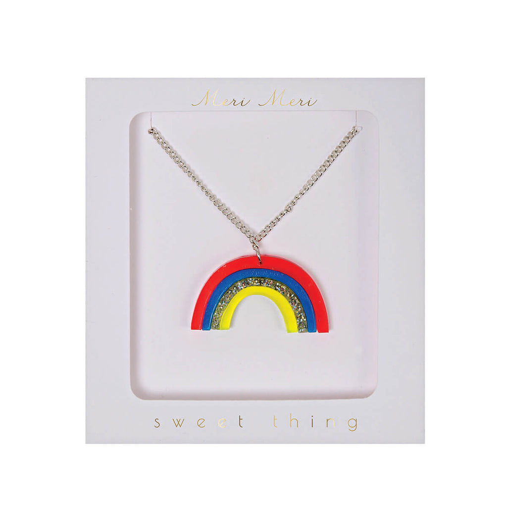 Rainbow Necklace by Meri Meri - Junior Edition