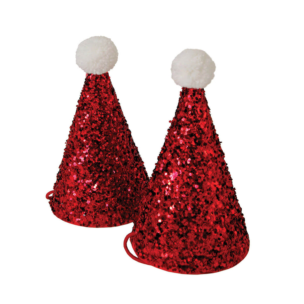 Mini Santa Hats by Meri Meri - Junior Edition