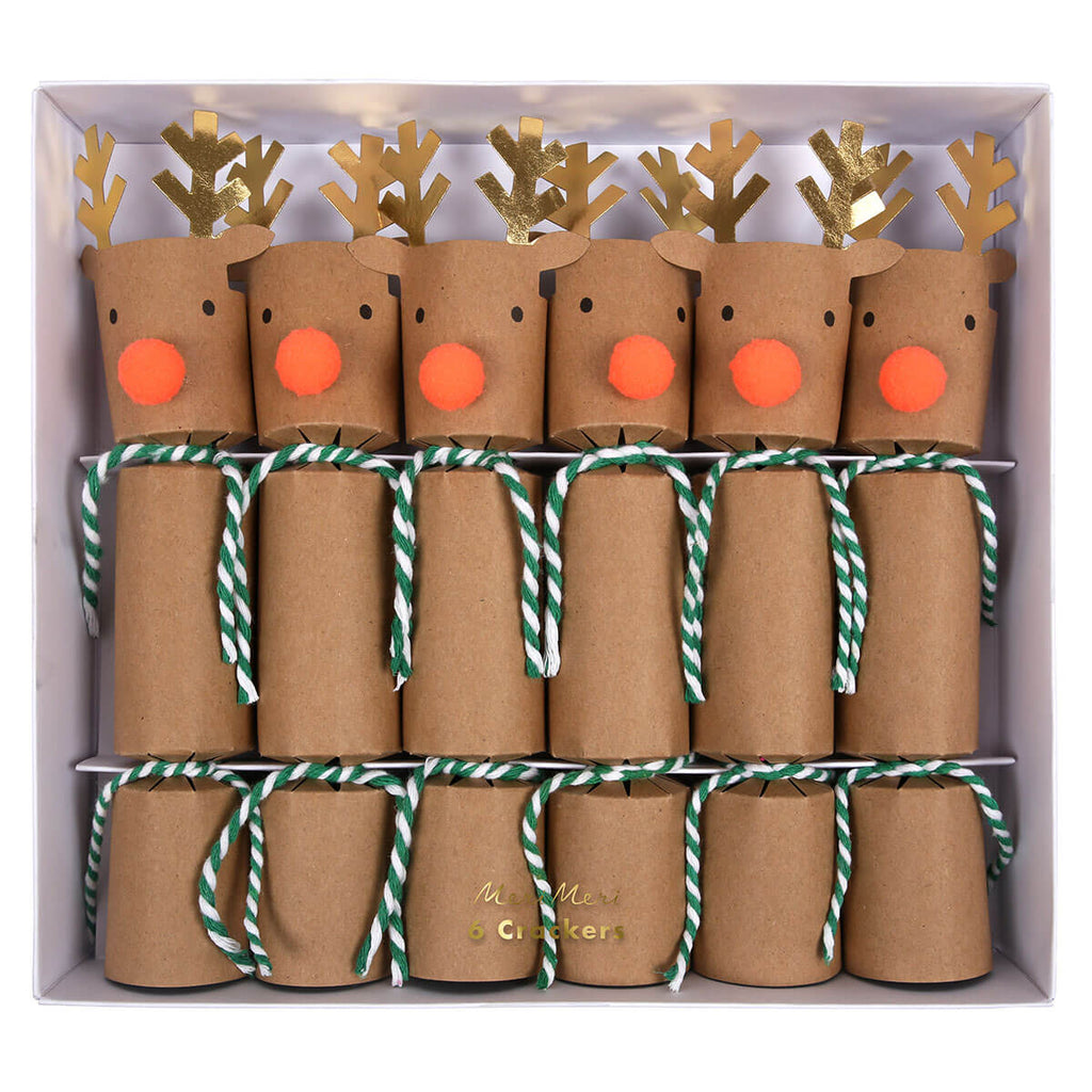 Reindeer Crackers by Meri Meri - Junior Edition