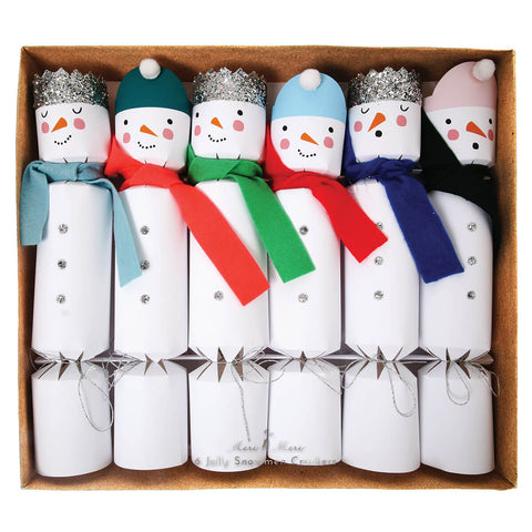 Snowmen Crackers by Meri Meri - Junior Edition