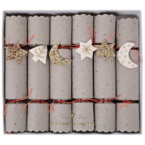 Stars And Moons Crackers by Meri Meri - Junior Edition