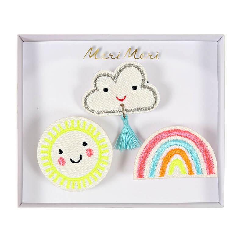 Weather Brooches by Meri Meri - Junior Edition