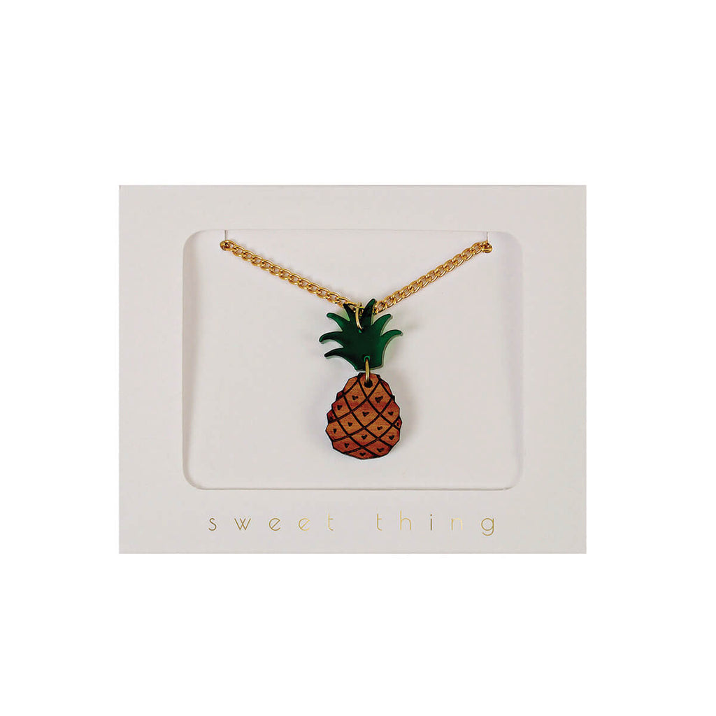 Pineapple Necklace by Meri Meri - Junior Edition