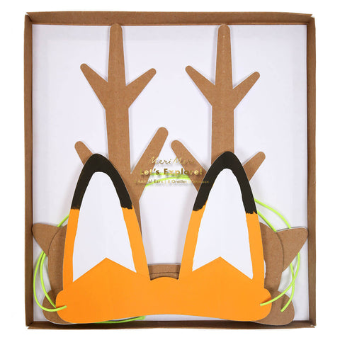 Paper Animal Ears by Meri Meri - Junior Edition