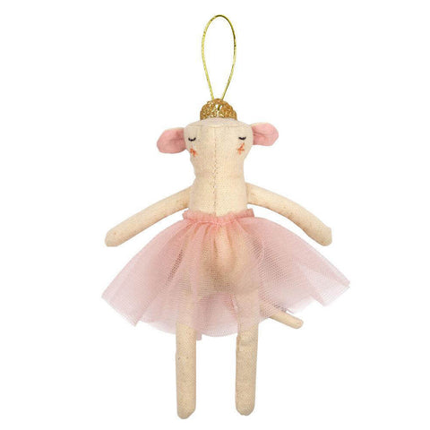 Ballerina Mouse Christmas Tree Decoration by Meri Meri