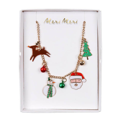 Christmas Charm Necklace by Meri Meri