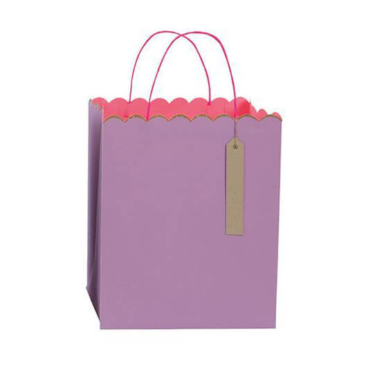 Pastel And Neon Gift Bags by Meri Meri - Junior Edition