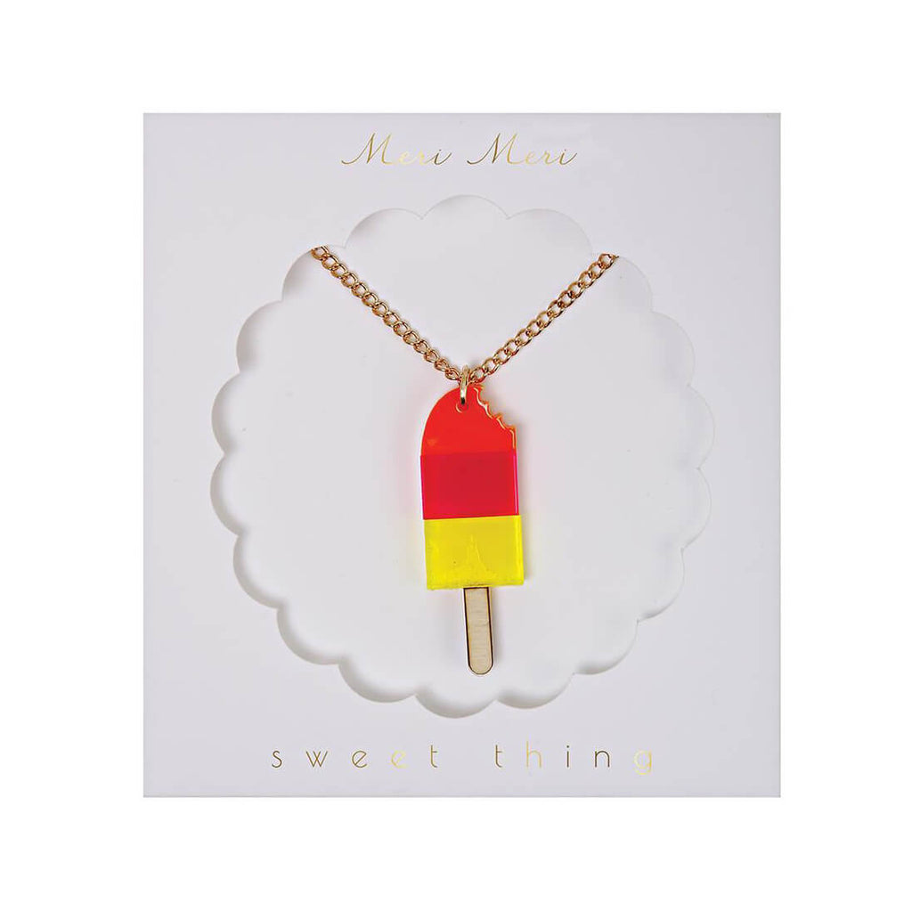 Popsicle Necklace by Meri Meri - Junior Edition