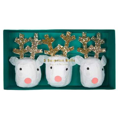 Reindeer Party Balls by Meri Meri
