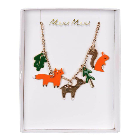 Woodland Charm Necklace by Meri Meri