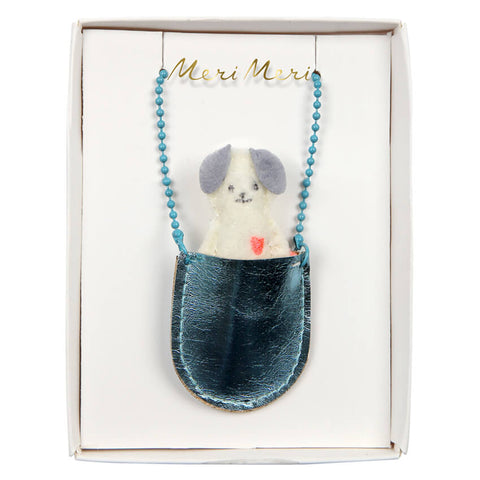 Dog Pocket Necklace by Meri Meri - Junior Edition