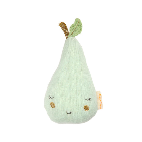 Pear Baby Rattle by Meri Meri