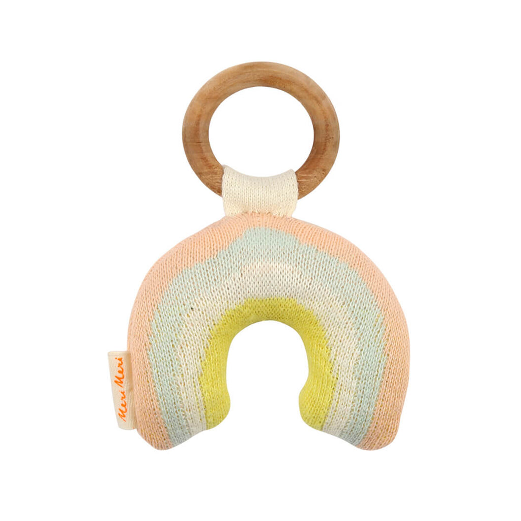 Rainbow Baby Rattle by Meri Meri - Junior Edition