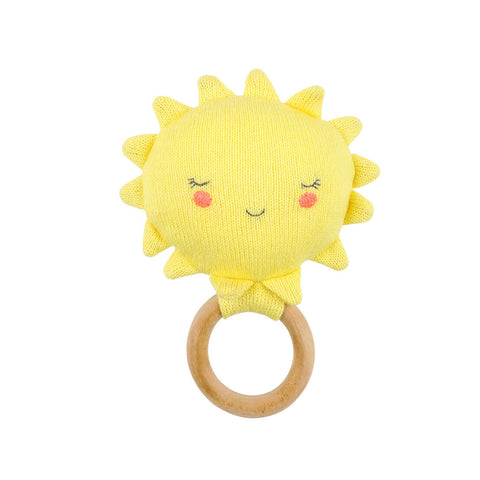 Sun Baby Rattle by Meri Meri - Junior Edition