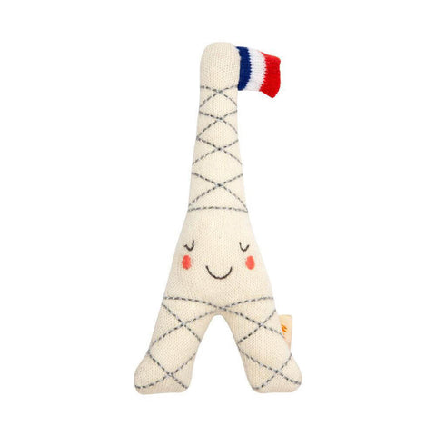 Eiffel Tower Baby Rattle by Meri Meri