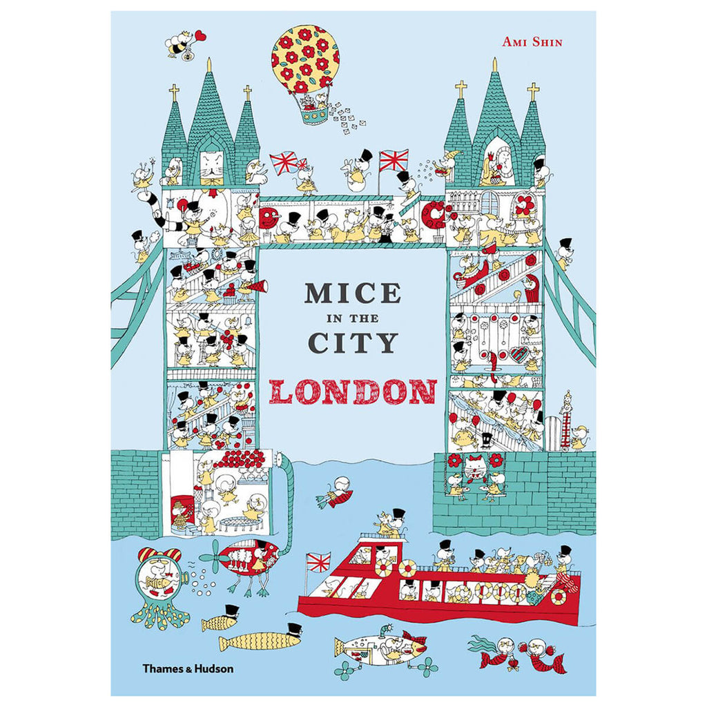 Mice In the City: London by Ami Shin - Junior Edition