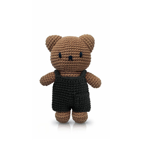 Boris In His Black Overall by Miffy Handmade