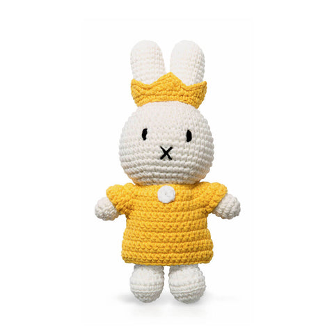 Queen Miffy In Her Yellow Dress And Yellow Crown by Miffy Handmade