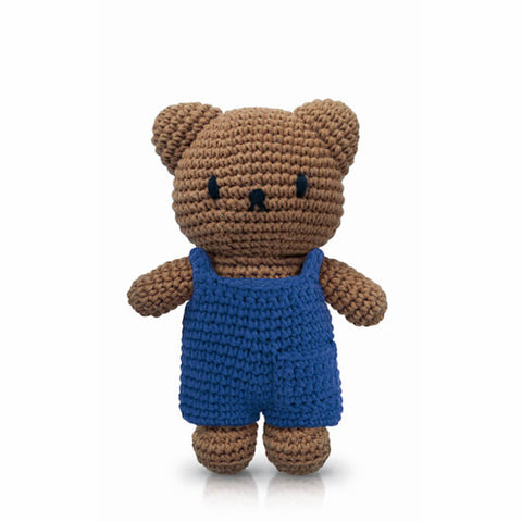 Boris In His Blue Overall by Miffy Handmade