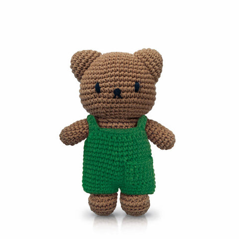 Boris In His Green Overall by Miffy Handmade