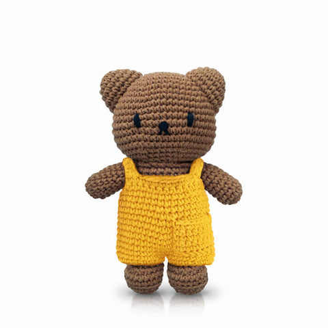 Boris In His Yellow Overall by Miffy Handmade