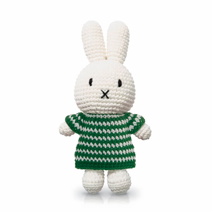 Miffy In Her Green Strped Dress by Miffy Handmade - Junior Edition