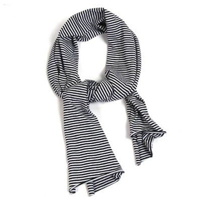 Striped Jersey Scarf by Mingo Kids - Junior Edition