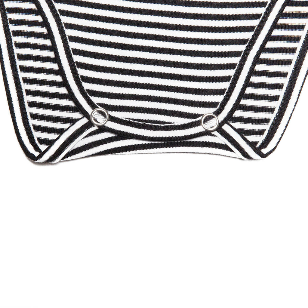 Stripe Bodysuit by Mingo Kids - Junior Edition  - 4
