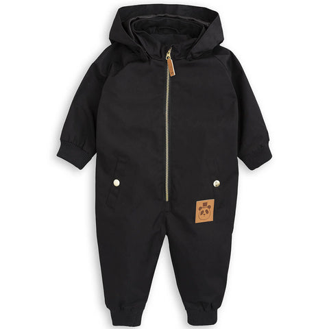 Pico Baby Overall in Black by Mini Rodini