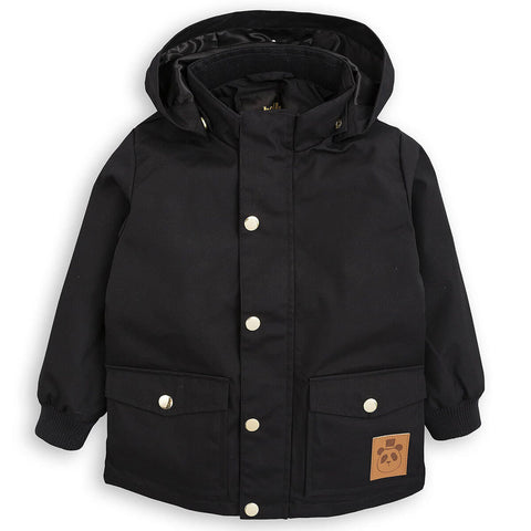 Pico Jacket in Black by Mini Rodini
