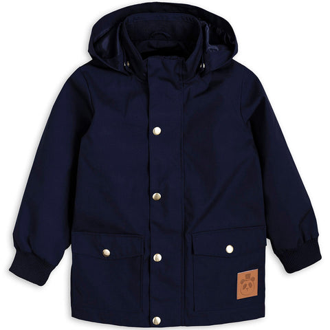 Pico Jacket in Navy by Mini Rodini - Last One In Stock - 92/98 (1.5-3 Years) - Junior Edition