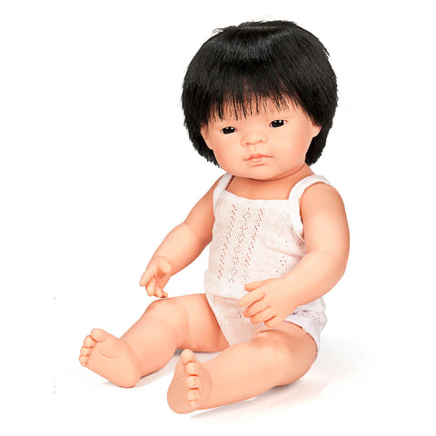 Boy Doll (38cm Asian) by Miniland