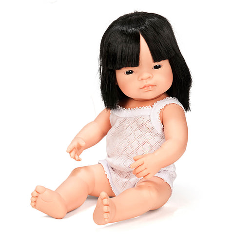 Girl Doll (38cm Asian) by Miniland