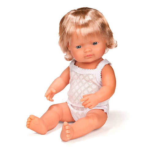 Girl Doll (38cm Caucasian) by Miniland