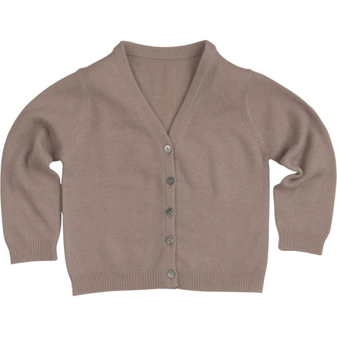 Dansk Cashmere Baby Cardigan in Pale Blush by Minimalisma - Junior Edition