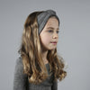 Alba Merino Wool Hair Band / Ear Warmer in Grey Melange by Minimalisma
