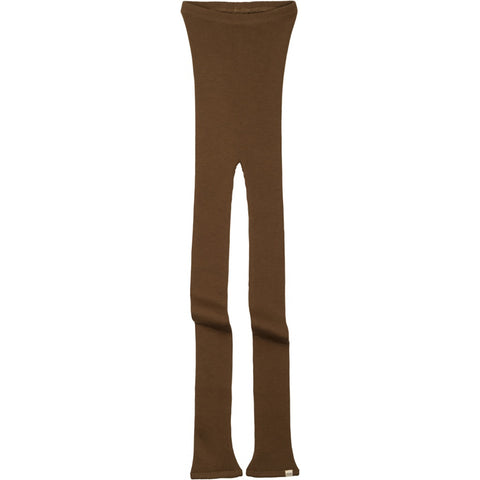 Arona Merino Wool Seamless Leggings in Cinnamon by Minimalisma