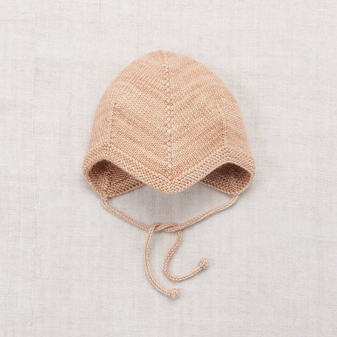 Acorn Bonnet in Shell by Misha & Puff