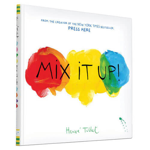 Mix It Up! by Hervé Tullet - Junior Edition  - 1